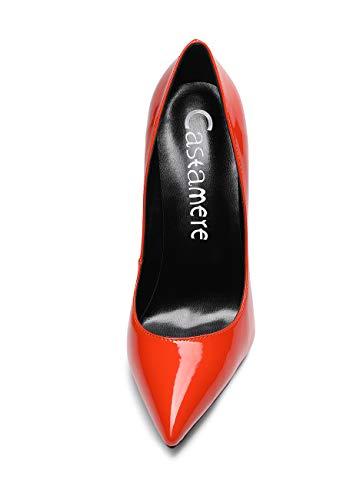 CASTAMERE Scarpe col Tacco da Donna Stiletto Tacco Alto High Heels Sexy Eleganti Scarpe 12CM Tacco