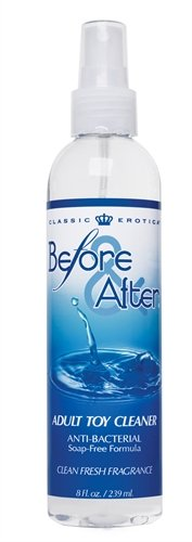 Classic Erotica Before and After Adult Toy Cleaner, 8 oz