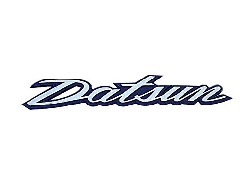 S30 Fairlady Z Rear Gate Italic Design DATSUN Emblem (Datsun Z Emblem compare prices)