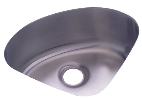 Elkay ELU1111 The Mystic Lustertone Undermount Sink, Stainless ()