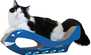 product image for Imperial Cat Whale Scratch 'n Shape, Blue, Large