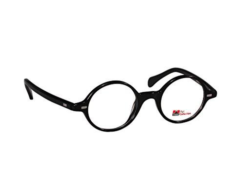 ES309 (Black, 43) - Shell Eyeglasses Rimless Tortoise