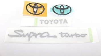 "Genuine OEM Toyota 1993-1998 Supra Turbo JZA80 Rear /""Toyota/"" Emblem 75441-14190"