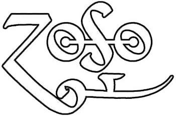 "ZoSo Symbol Graphic Die Cut decal sticker Car Truck Boat Window Bumper Wall 7/"""