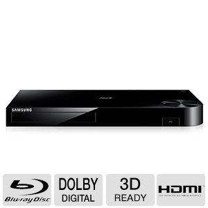 Samsung 4K Upscaling 3D Blu-ray Disc Player With Built In Wi-Fi, Full Web Browser, AllShare, UDHD Upscale, DTS Surround Sound, Dolby True, BD Wise, Plus Superior 6Ft High Speed HDMI Cable <span at amazon