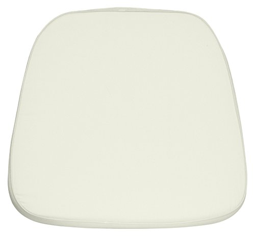 Flash Furniture 22 Pk. Soft Ivory Fabric Chiavari Chair (Ivory Fabric Cushions)