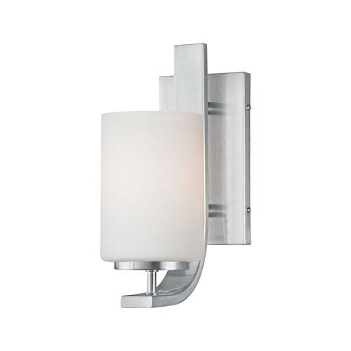 Elk Lighting TN0005217 Pendenza 1-Light Lamp in Brushed Nickel Vanity Wall Sconce