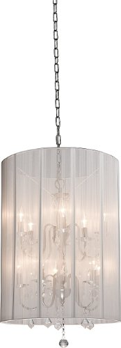 artcraft-lighting-claremont-10-light-2-tier-chandelier-polished-nickel-with-white-silk-string-shades