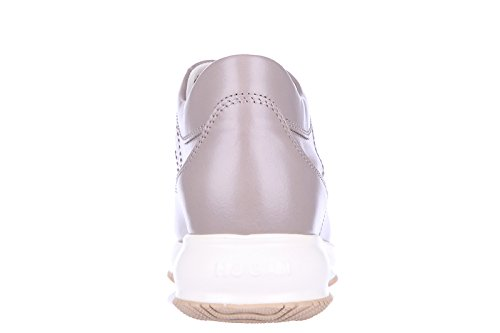 Hogan Chaussures Baskets Sneakers Femme en Cuir Interactive h bucata altraversio