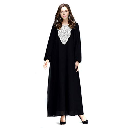 iZHH Dresses for Women Long Maxi Dress Dubai Ethnic for sale  Delivered anywhere in USA