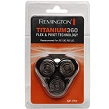 Remington SPTF2 SP-TF2 R8150 & R5130 Titanium 360 Replacement Mens Shaver Rotary Head Cutter & Frame Pack by Remington