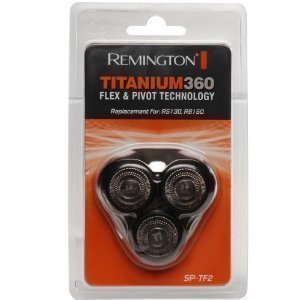 Remington SPTF2 SP-TF2 R8150 & R5130 Titanium 360 Replacement Mens Shaver Rotary Head Cutter & Frame Pack