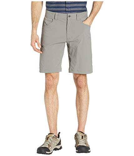 (Columbia Men's Silver Ridge II Stretch Short, Breathable, UPF 50 Sun Protection, Boulder, 32x10 )