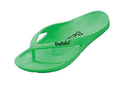 Betula Energy Damen und Herren Zehensteg Sandalen Neon Green