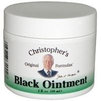 2 pack of Dr. Christophers Formula Black Drawing Ointment 2 Oz by Dr. Christopher's Formulas