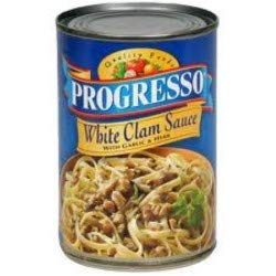 Progresso White Clam Sauce with Garlic & Herb 15 oz (Pack of 12)
