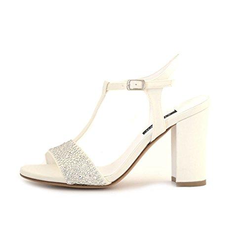 ALBANO - Sandalias de vestir para mujer Blanco blanco blanco