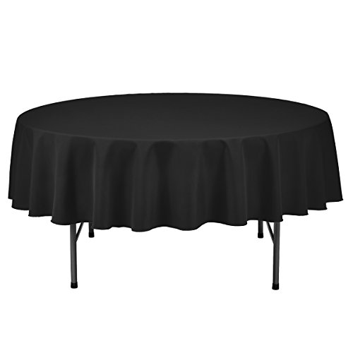 Remedios Round Polyester Tablecloth Restaurant