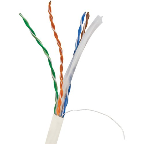 - Vericom Cat-6 UTP Solid Riser Cmr Cable, 1,000' (White) Home Audio Crossover, White (MBW6U-01444)