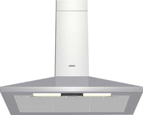 Siemens LC45950 - Campana (Canalizado/Recirculación, 400 m³/h, 67 Db, Montado en pared, Incandescente, Acero inoxidable): Amazon.es: Hogar