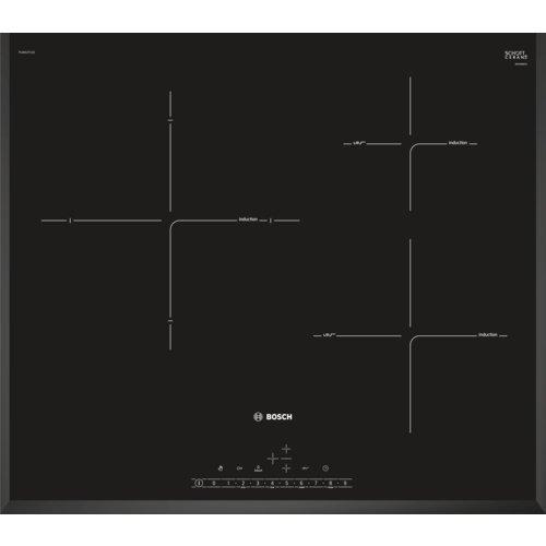 Bosch PIJ651FC1E Serie I 6 – Placa de inducción de 60 cm de ancho, terminación biselada, 3 zonas de cocción, control…