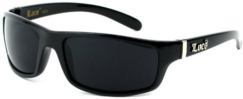 Locs 8Loc9025-BK Polish Black Men'S Sunglasses