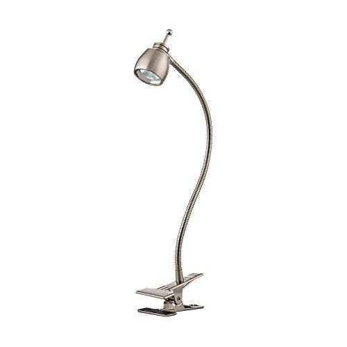 LED ClipOn Desk Lamp with Adjustable Gooseneck Arm Task – Desk Lamp Clip on
