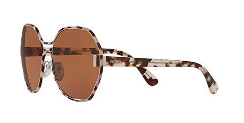 Sunglasses Prada PR 53 TS UAO6N0 SILVER/WHITE HAVANA