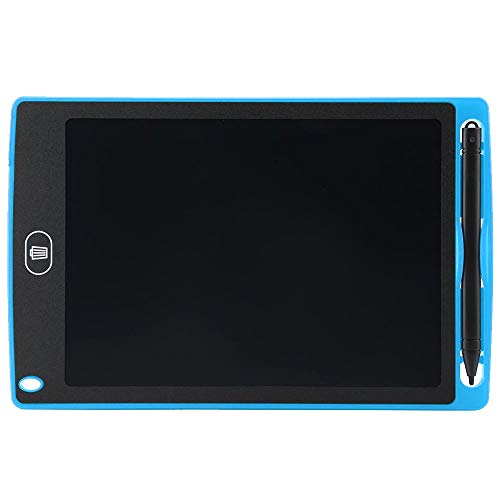 Writing Tablet with Pen Portable Ultra-Thin Digital Electronic Drawing Board Writing Pad for Kids and Adults Happy Drawing and Working Saving Papers(Blue) ()