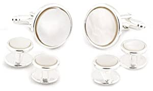 Edwardian Men's Accessories Formal Set Cuff Links by Cuff-Daddy $44.99 AT vintagedancer.com