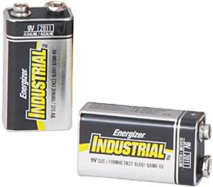 Energizer(R) 9-Volt Alkaline Industrial Batteries, Box Of 12in. by Eveready