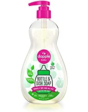 Dapple Baby Bottle & Dish Soap, Apple Pear, 16.9 fl.Oz