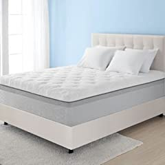 "Novaform 14 Comfort Grande Queen Gel-Memory Foam Mattress Sleep deeply, wake up refreshed and feel the difference with the Novaform Comfort Grande Gel-Memory Foam Mattress. This 14"" mattress has been proven to evenly distribute body weight fo..."