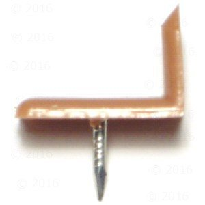 L Shaped Tack Glide  Pieces