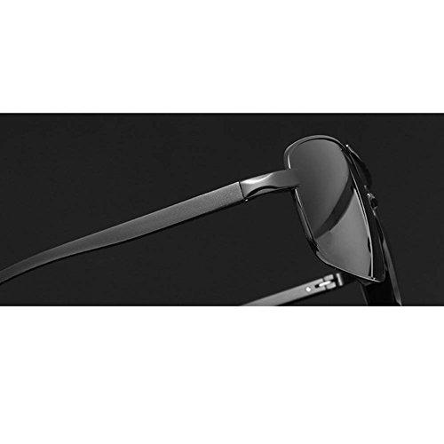 Lunettes De Aluminium De BlackFramedBlackGrayPiece Conduite Carrés De Et Marche De RPFU Soleil en Hommes Polarisé Soleil Magnésium Lunettes d1ZRqdx