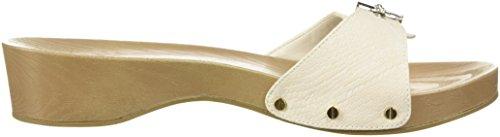 Dr. Scarpe Da Donna Classico Sandalo Da Scivolo Con Stampa Gardenia A Forma Di Serpente