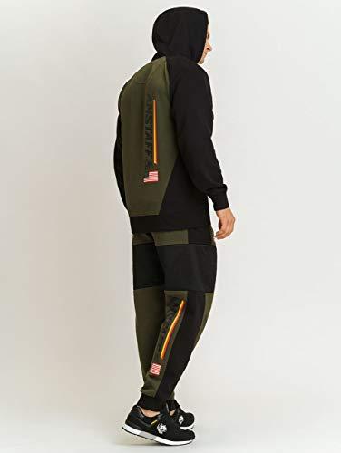 Amstaff Keren - Pantalones de chándal, Color Verde: Amazon.es ...