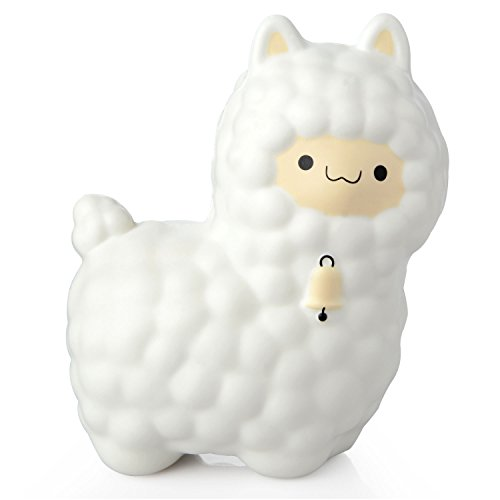 16CM Slow Rise Kawaii Large Sheep Jumbo Animal Soft Toy For Child Adult Kids Gift Party Supplies (White) by Moobom