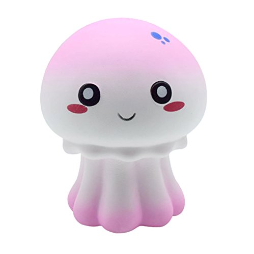 Show TINE ON Stress Relief Kawaii Octopus Squishy for Kids Adults Scented Squishies, Soft Slow Rising Jumbo Squishies Squeeze Toys Gifts 12x10x7cm from US Warehouse -