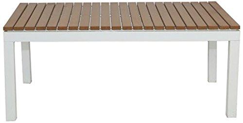 Patio Heaven TX2260-CT4-W Riviera Coffee Table, White by Patio Heaven