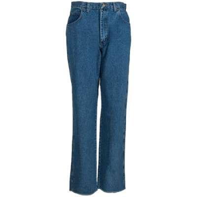 Red Kap Men's Stonewashed Cotton Denim PD60 SW Heavyweight Jeans - Heavyweight Stonewashed Denim