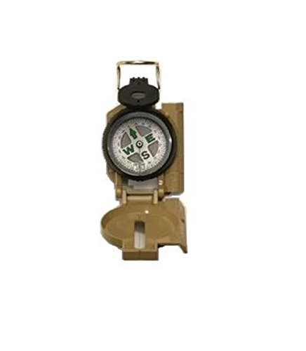 UPC 613902040502, Tan Military Marching Compass