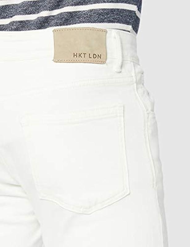 HKT by Hackett Hkt GMT Dye Denim Slim dżinsy męskie: Odzież