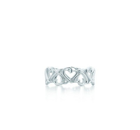 Paloma Picasso Loving Heart Band Ring ()