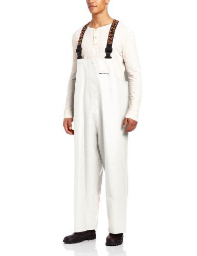 Grundéns Clipper Men's Bib Pant, White, X-Small - White Waders