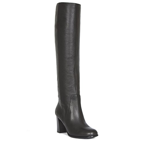 Women's Block Tj Boots Tube Long Heel Collection Leather PZnxpn