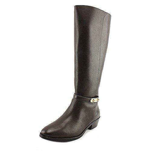 Coach Womens Caroline Closed Toe Knee High Fashion Boots Chestnut Extended Semi Matte Calf
