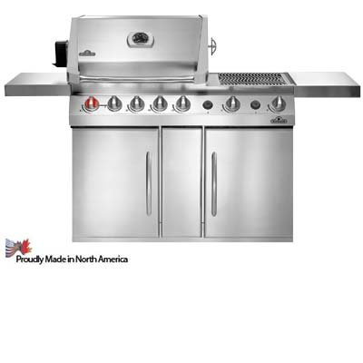 Prestige V PF450 Gas Grill Fuel: Natural - Grill Hybrid Natural Gas