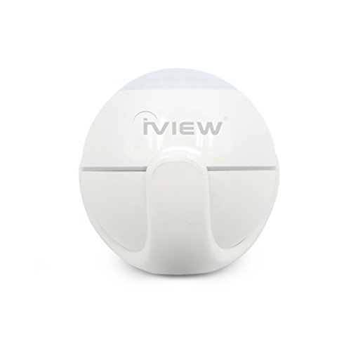 iView S200 WiFi smart Motion Sensor indoor outdoor adjustable sensibility DIY easy installation long lasting battery