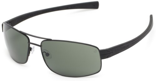 Tag Heuer LRS 251 301 Rectangular Sunglasses,Black,64 - Case Heuer Sunglasses Tag